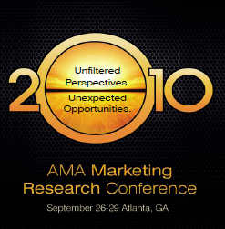 2010 AMA Market Research Conference