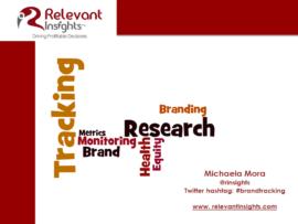 Brand Tracking Webinar
