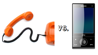 Landlines vs. Cell Phones