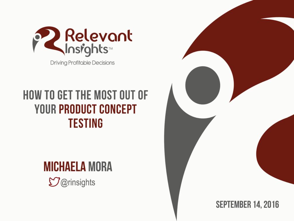 Concept Testing Webinar