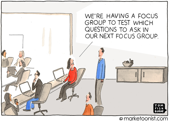 Customer Events Are Not Focus Groups