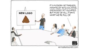 Rebranding cartoon - Tom Fishburne