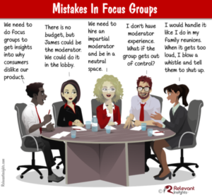 Common Focus Groups Mistakes
