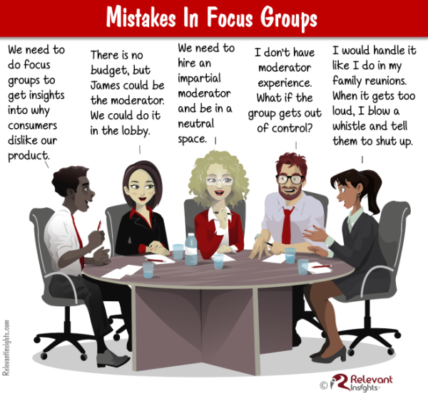 Focus Group Mistakes