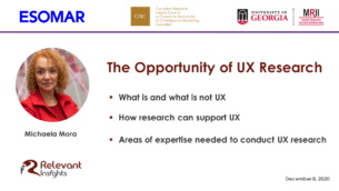 The Opportunity of UX Research