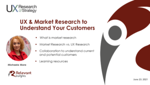 Market Research and UX Research To Better Understand Your Customers